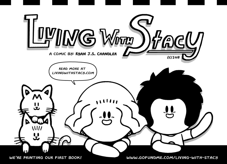 Living With Stacy Comic